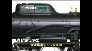 Model Space D51 Locomotive TV Spot, 'Start Making Your Model' - Thumbnail 5