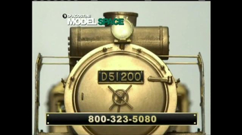 Model Space D51 Locomotive TV Spot, 'Start Making Your Model' - Thumbnail 6