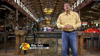 Bass Pro Shops Fall Harvest Sale TV Spot, 'The Place for Huge Savings'