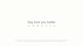 Facebook Messenger TV Spot, 'Say Love You Better' - Thumbnail 9