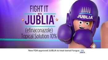 Jublia TV Spot, 'Fight It, Don't Hide It'