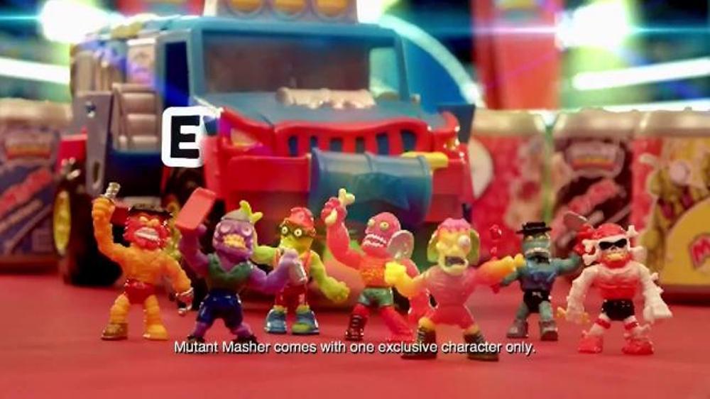 Mutant Mania Mutant Masher TV Commercial, 'Mutant Mania Wrestlers'