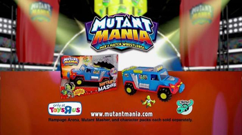 Mutant Mania Mutant Masher TV Spot, 'Mutant Mania Wrestlers' - Thumbnail 6