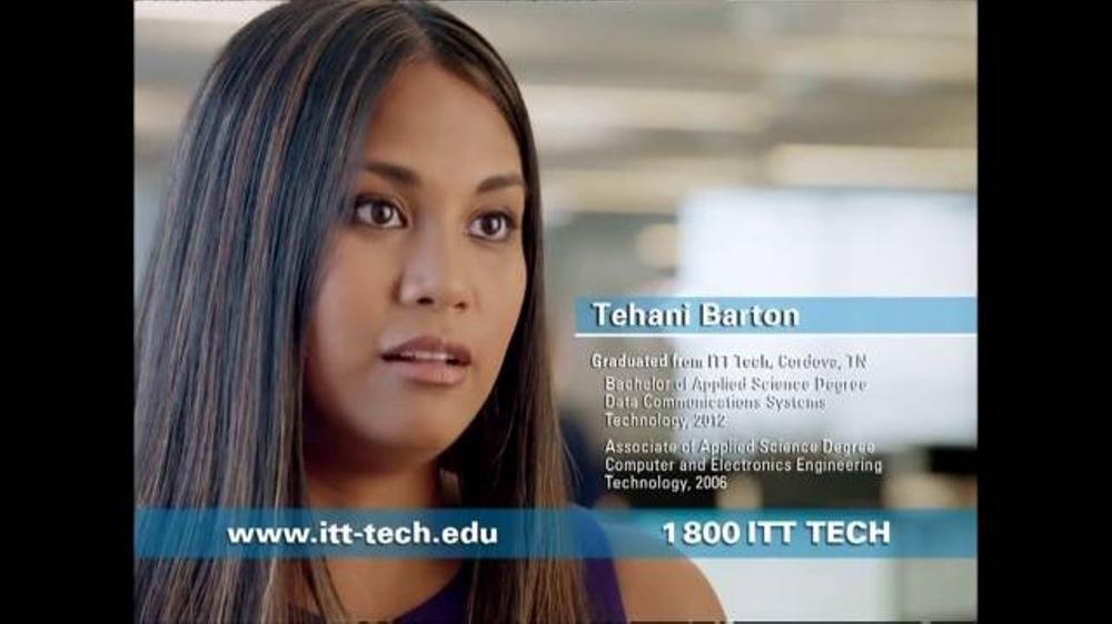 ITT Technical Institute TV Commercial, 'Tehani Barton'