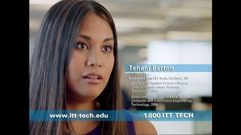 ITT Technical Institute TV Spot, 'Tehani Barton' - Thumbnail 2