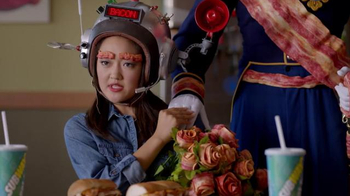 Subway Bacon Egg & Cheese TV Spot, 'Love Bacon?' - 206 commercial airings