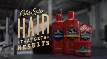 Old Spice Hair Care TV Spot, 'Gym' - Thumbnail 10