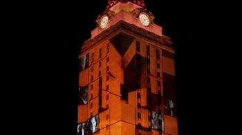 University of Texas at Austin TV Spot, '3D Tower: Footsteps' - Thumbnail 3