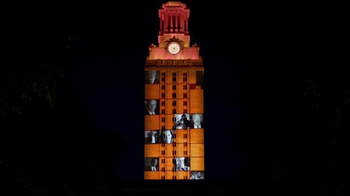 University of Texas at Austin TV Spot, '3D Tower: Footsteps' - Thumbnail 4