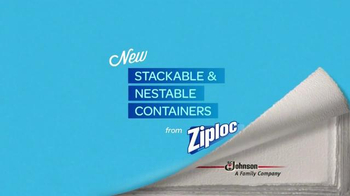 Ziploc Stackable Containers TV Spot, 'Life Lessons: Avalanche' - Thumbnail 10