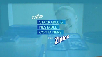 Ziploc Stackable Containers TV Spot, 'Life Lessons: Avalanche' - Thumbnail 9