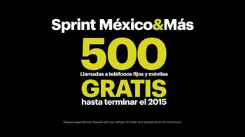 Sprint Family Share Pack TV Spot, 'Datos Para Todos [Spanish] - Thumbnail 10