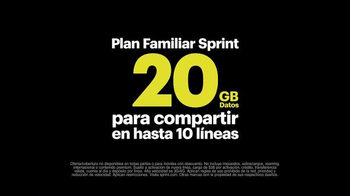 Sprint Family Share Pack TV Spot, 'Datos Para Todos [Spanish] - Thumbnail 8