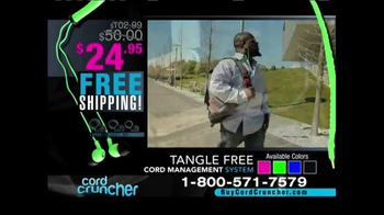 Cord Cruncher TV Spot, 'Tangle Free' - Thumbnail 10