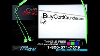 Cord Cruncher TV Spot, 'Tangle Free' - Thumbnail 9