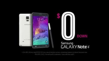 T-Mobile Samsung Galaxy Note 4 TV Spot, 'The Next Big Thing' - Thumbnail 3