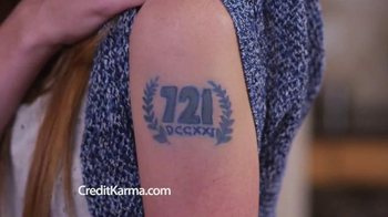 Credit Karma TV Spot, \'Credit Score Tattoo\'