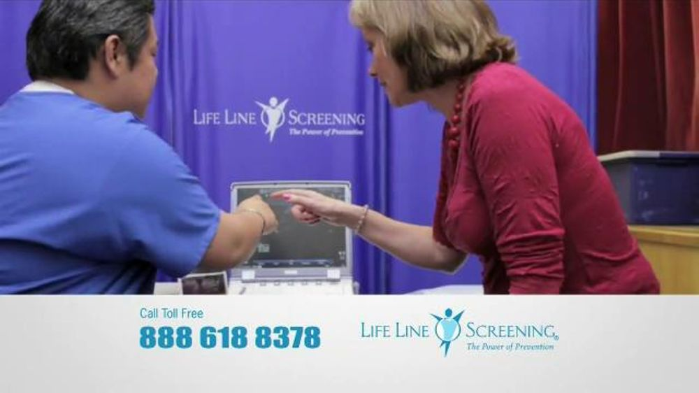 Life Line Screening TV Commercial, 'Risk Factors for Cardiovascular Disease'