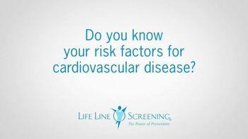 Life Line Screening TV Spot, 'Risk Factors for Cardiovascular Disease' - Thumbnail 1