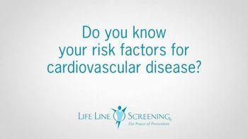 Life Line Screening TV Spot, 'Risk Factors for Cardiovascular Disease' - Thumbnail 2