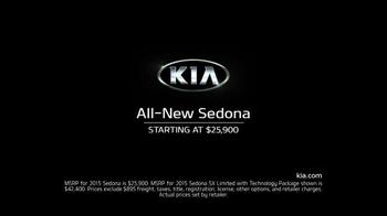 2015 Kia Sedona TV Spot, 'No Compromises' - Thumbnail 10
