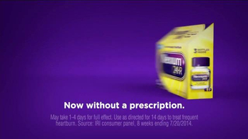 Nexium 24 Hour TV Spot, 'Protection of the Purple Pill' - Thumbnail 1
