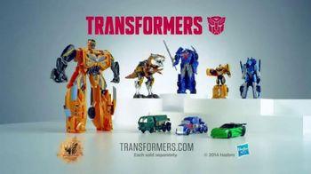 Transformers: Age of Extinction Mega 1-Step Bumblebee Figure TV Spot