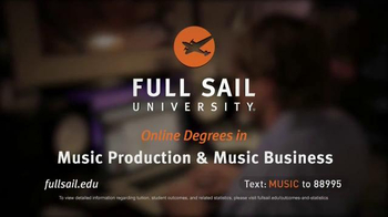 Full Sail University TV Spot, 'Love of Music' - Thumbnail 10