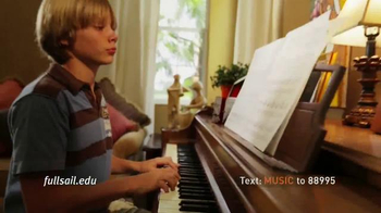 Full Sail University TV Spot, 'Love of Music' - Thumbnail 5