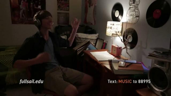Full Sail University TV Spot, 'Love of Music' - Thumbnail 6