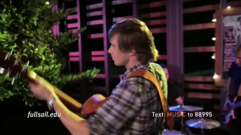 Full Sail University TV Spot, 'Love of Music' - Thumbnail 7