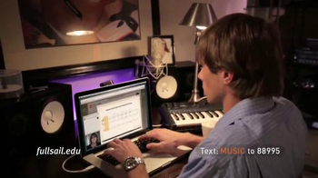 Full Sail University TV Spot, 'Love of Music' - Thumbnail 9