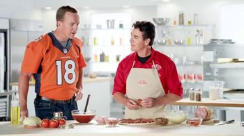 Papa John's Ultimate Meat Pizza TV Spot, 'Up Your Game' Ft. Peyton Manning - 82 commercial airings