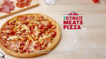Papa John's Ultimate Meat Pizza TV Spot, 'Up Your Game' Ft. Peyton Manning - Thumbnail 8