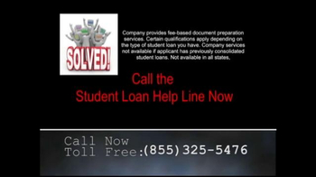 Student Loan Help Line TV Spot, 'Buried in Student Loan Debt?' - Thumbnail 10