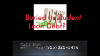 Student Loan Help Line TV Spot, 'Buried in Student Loan Debt?' - Thumbnail 2