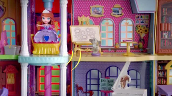Sofia the First Royal Prep Academy Playset TV Spot, 'Magic in Every Corner' - Thumbnail 4