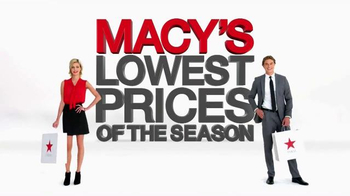 Macy's Lowest Prices of the Season TV Spot, 'October 2014' - Thumbnail 10