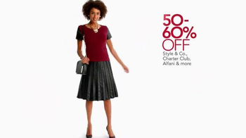 Macy's Lowest Prices of the Season TV Spot, 'October 2014' - Thumbnail 2