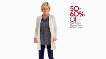 Macy's Lowest Prices of the Season TV Spot, 'October 2014' - Thumbnail 3