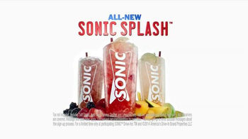 Sonic Drive-In Sonic Splash Sodas TV Spot, 'Calculator Phone' - Thumbnail 10