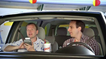 Sonic Drive-In Sonic Splash Sodas TV Spot, 'Calculator Phone' - Thumbnail 2