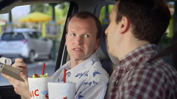 Sonic Drive-In Sonic Splash Sodas TV Spot, 'Calculator Phone' - Thumbnail 3