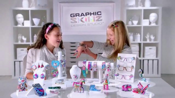 RoseArt Graphic Skinz Design Studio TV Spot, 'Make a Work of Art'