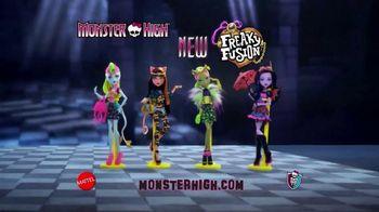 Monster High Freaky Fusion TV Spot, 'Halloween'