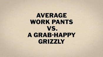 Duluth Trading TV Spot, 'Fire Hose Work Pants vs. a Grab-Happy Grizzly' - Thumbnail 1