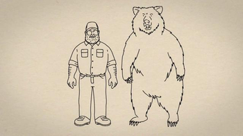 Duluth Trading TV Spot, 'Fire Hose Work Pants vs. a Grab-Happy Grizzly' - Thumbnail 2