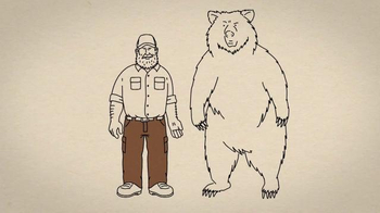 Duluth Trading TV Spot, 'Fire Hose Work Pants vs. a Grab-Happy Grizzly' - Thumbnail 5