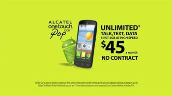 Straight Talk Wireless Alcatel OneTouch Pop Icon TV Spot - Thumbnail 10