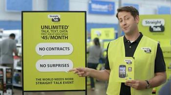 Straight Talk Wireless Alcatel OneTouch Pop Icon TV Spot - Thumbnail 3